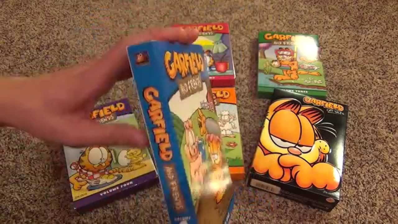 garfield and friends entire dvd collection volumes 15 and