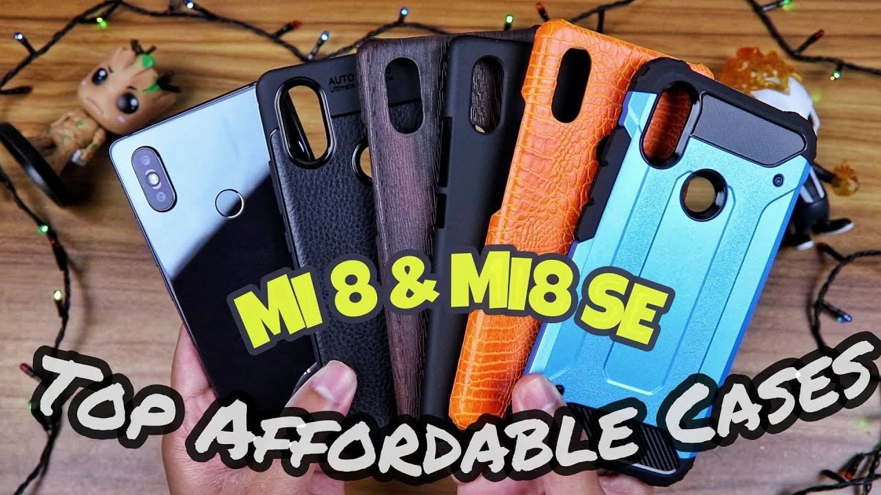 new style 1cc29 d27f9 Xiaomi Mi 8 & Mi 8 SE Top Affordable Cases || Viral Kabir