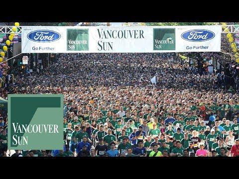 Video: Vancouver Sun Run 2018