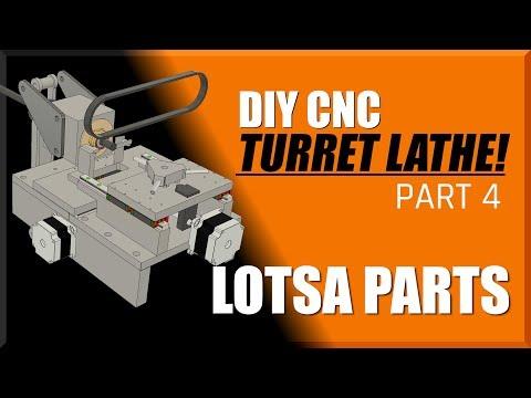 DIY CNC Turret Lathe Part 4   WW211