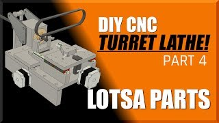 DIY CNC Turret Lathe Part 4 | WW211