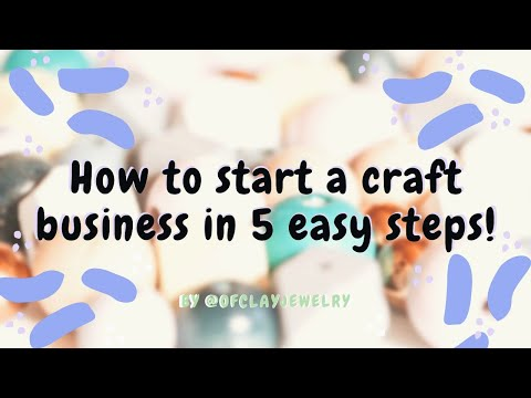 How-To: Start A Craft Business During Quarantine 2020 In FIVE Simple Steps!