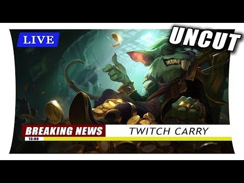 Nachrichten berichten: Twitch Hard Carry - Frisch vom Stream