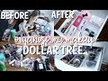 DOLLAR TREE! HUGE ORGANIZING & DECLUTTERING MY ENTIRE MAKEUP COLLECTION!   IKEA ALEX DRAWERS