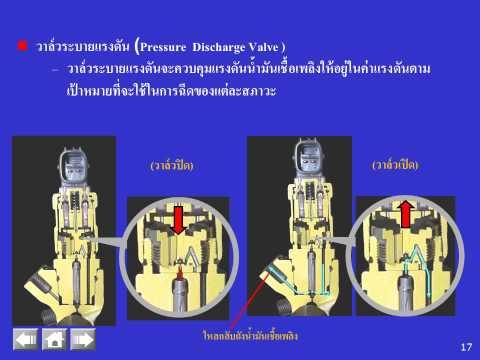 ระบบน้ำมันเชื้อเพลิงที่กำหนดให้ใช้กับเครื่องยนต์ Common Rail