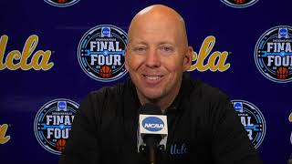UCLA Semifinal Postgame Press Conference - 2021 NCAA Tournament