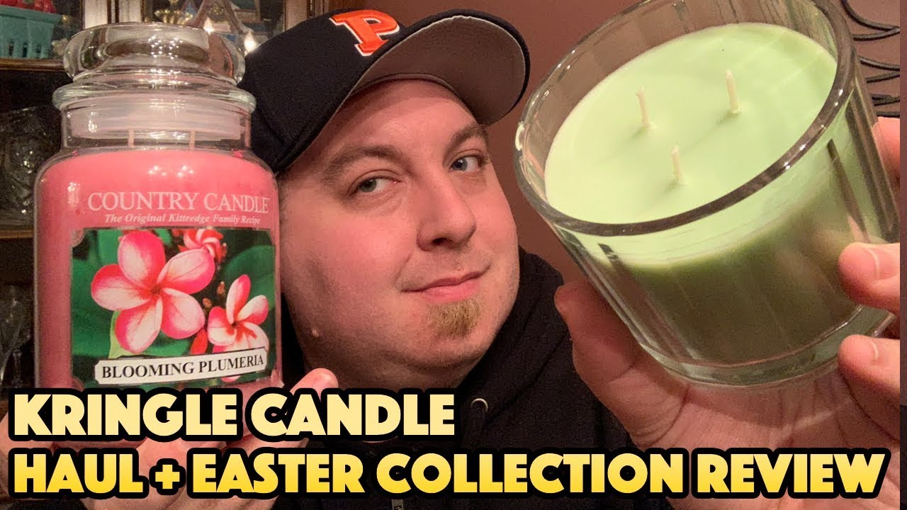 Kringle Candle Haul + NEW Easter Collection Review ...