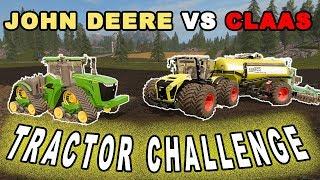 "[""Farming Simulator 2017"", ""Farming Simulator 2017 Mods"", ""John Deere 9R"", ""Claas Xerion 5000"", ""John Deere vs Claas"", ""The Tractors Mod Challenge"", ""The Tractors Challenge"", ""Claas Xerion"", ""DAF XF"", ""Ai Cave"", ""FARMING SIMULATOR 17"", ""FARMING SIMULATOR"