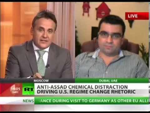 Syrian REBEL video of CHEMICAL MIX and THREATS to Assad supporters