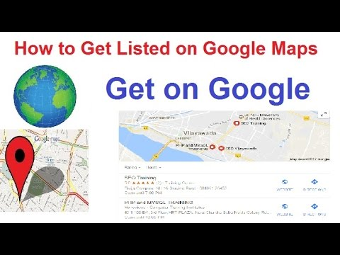 how to put my business name on google maps