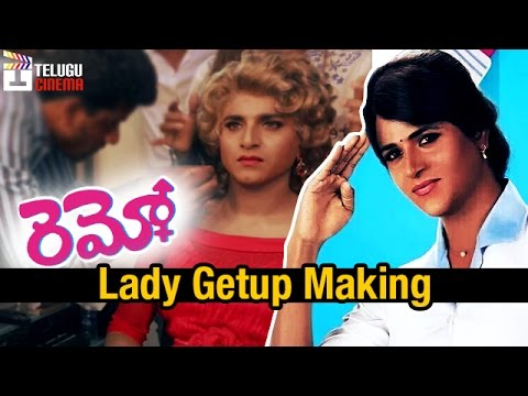 Remo Movie Lady Getup Making  ...