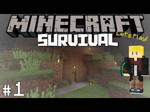 Thumbnail: Minecraft: Survival Let's Play #1 - A New Beginning!