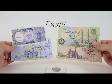 Episode #5 - EGYPT - Egyptian Pound And Piastres Bank Notes