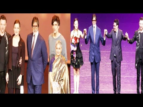 Amitabh Bachchan & Jaya Bachchan Attend Paris Ballet Legends Evening | Bollywood Events