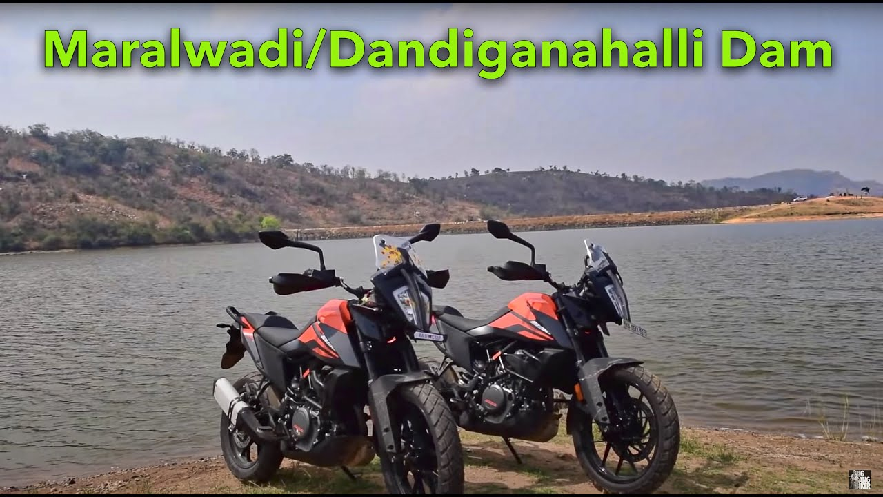 OFFROAD & GO CLOSE TO WATER!! KTM ADVENTURE 390s on ROAD-TRIP | Very close to Bangalore, Nandi Hills
