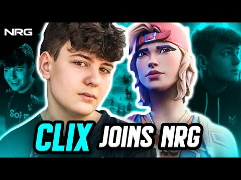 Clix Joins NRG Fortnite | Official Announcement Video