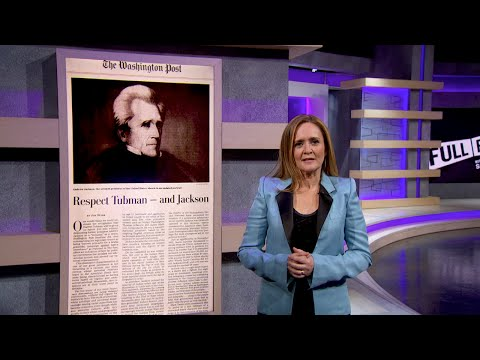 Web Extra: Andrew Jackson Was So, So Terrible   Full Frontal with Samantha Bee   TBS
