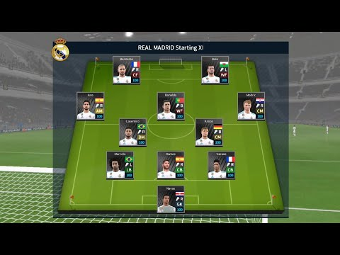 DLS 18 Mod Real Madrid Android | Full Squad,Kits,Logo_Unlimited Money