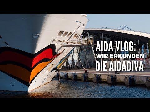 AIDA Vlog: Die Highlights der AIDAdiva - Schiffsrundgang