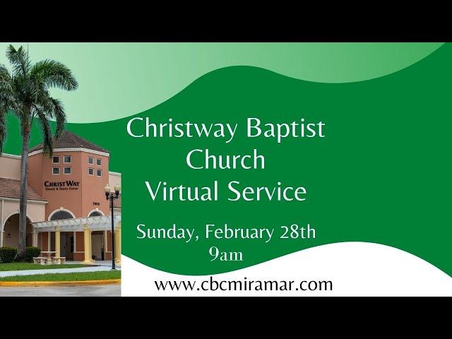 CBC Feb. 28  Sunday Service