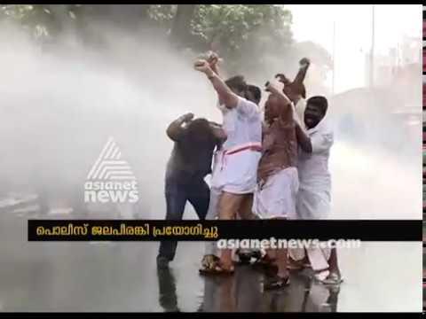 BJP Secretariat march turns violent