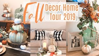 FALL HOME TOUR 2019| FARMHOUSE GLAM DECOR | JESSICA O'DONOHUE