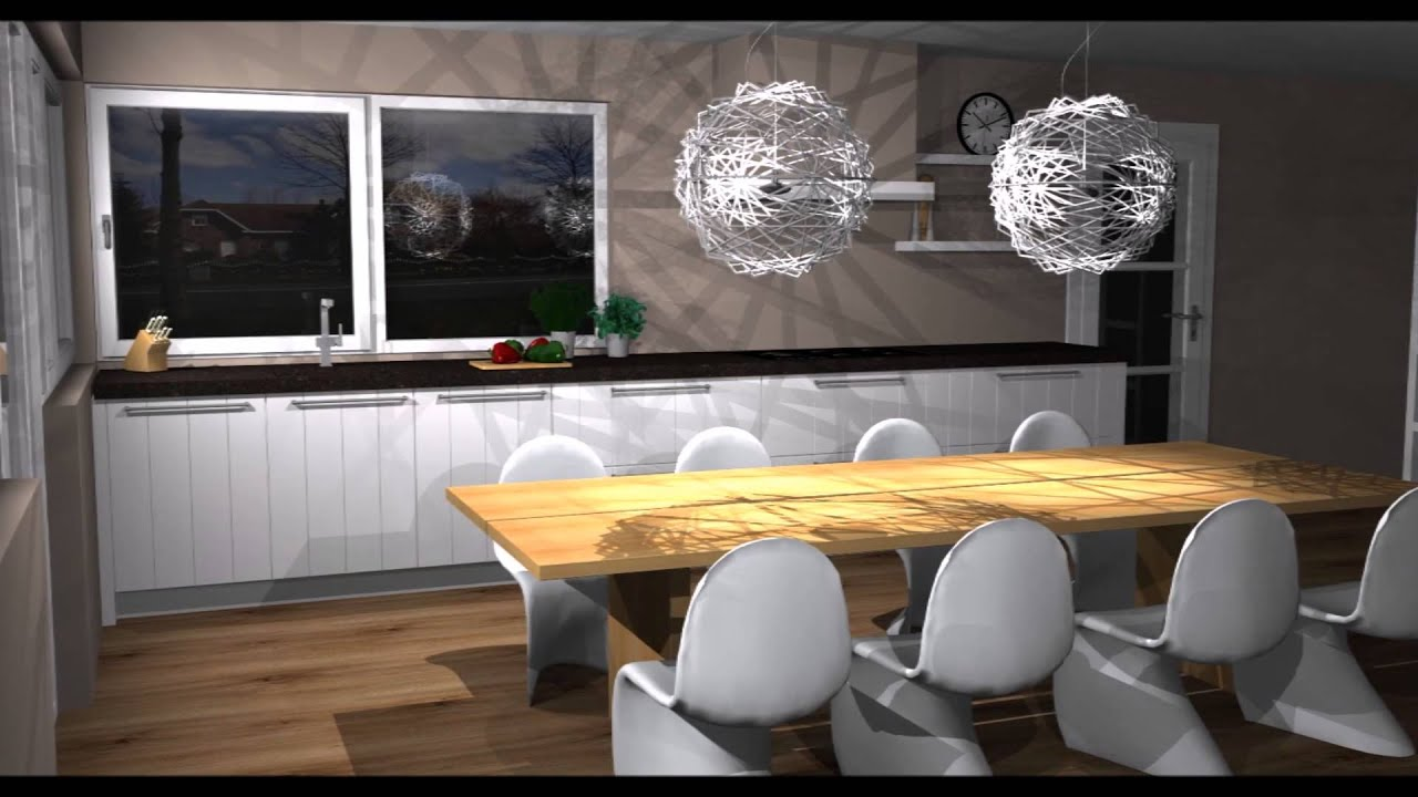 Keukenontwerpen moderne keuken   youtube