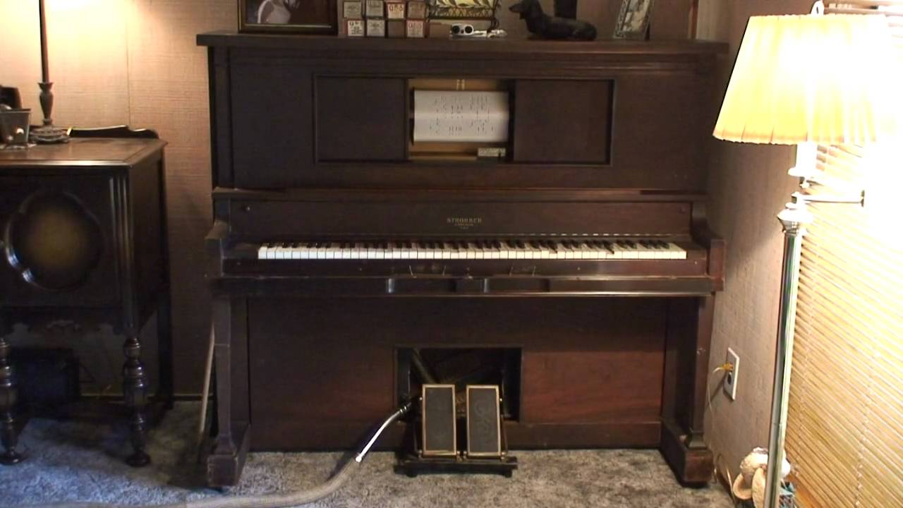 Player Piano playing Twist using our old vacuum cleaner