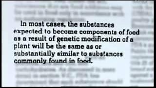 NHKが放映したドキュメントです。 『モンサントの不自然な食べもの』 マリー・モニク・ロバンが監督した2008年のドキュメンタリー映画.