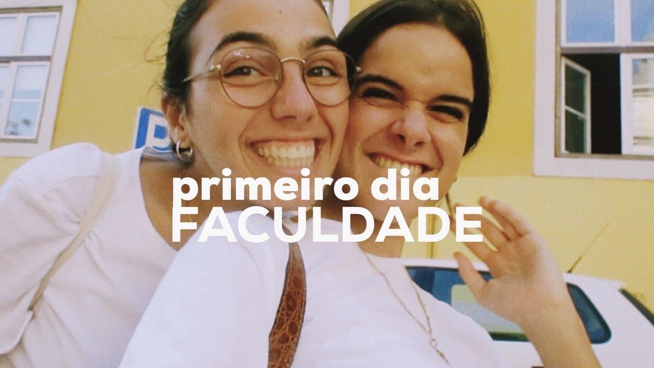PRIMEIRO DIA DE FACULDADE (em 2020)