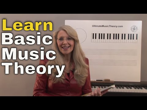 Music Theory: FREE Teach Basic Music Theory Mini-Course