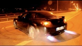 Mazda Rx-8 Tem BACKFIRE 360 and Burnout Turkey
