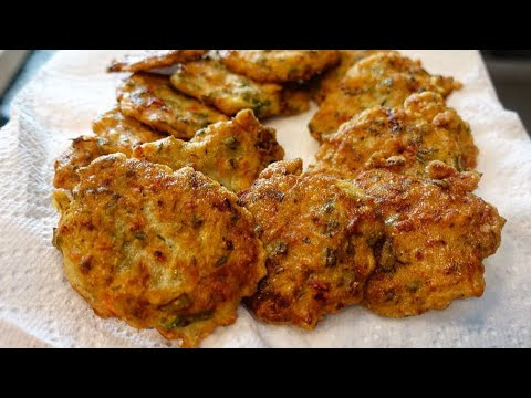 Caribbean Saltfish Fritters | Bacalao Fritters | Fried Cod Fritters