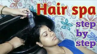 how to do hairspa step by step in hindi | hairspa | shiny hairs | hair care | loreal