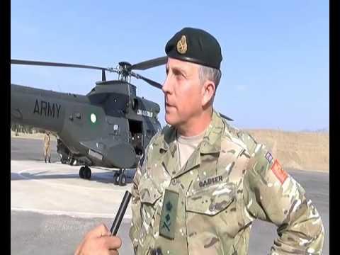 General Sir Nicholas Patrick Carter, visited Miran Shah, North Wazirastan Agency.