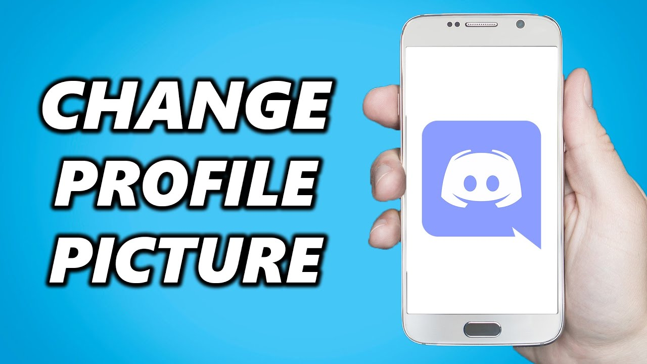How to Change Profile Picture on Discord Mobile! - YouTube