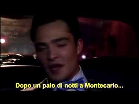 chuck e blair limo scene 6x01 sub ita   youtube