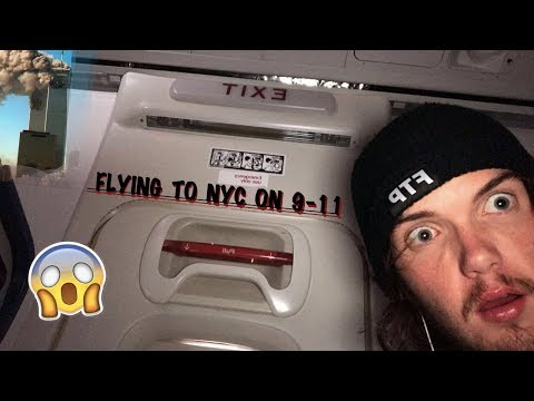 FLYING TO NYC JFK AIRPORT ON 9-11!
