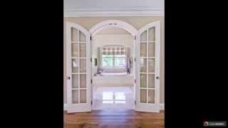 видео Белые глянцевые двери в интерьере: фото варианты