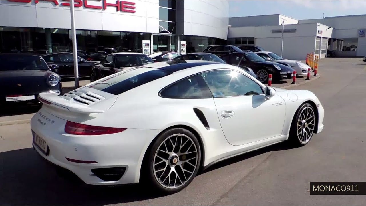 new 2014 porsche 911 991 turbo s white youtube - 2015 Porsche 911 Turbo