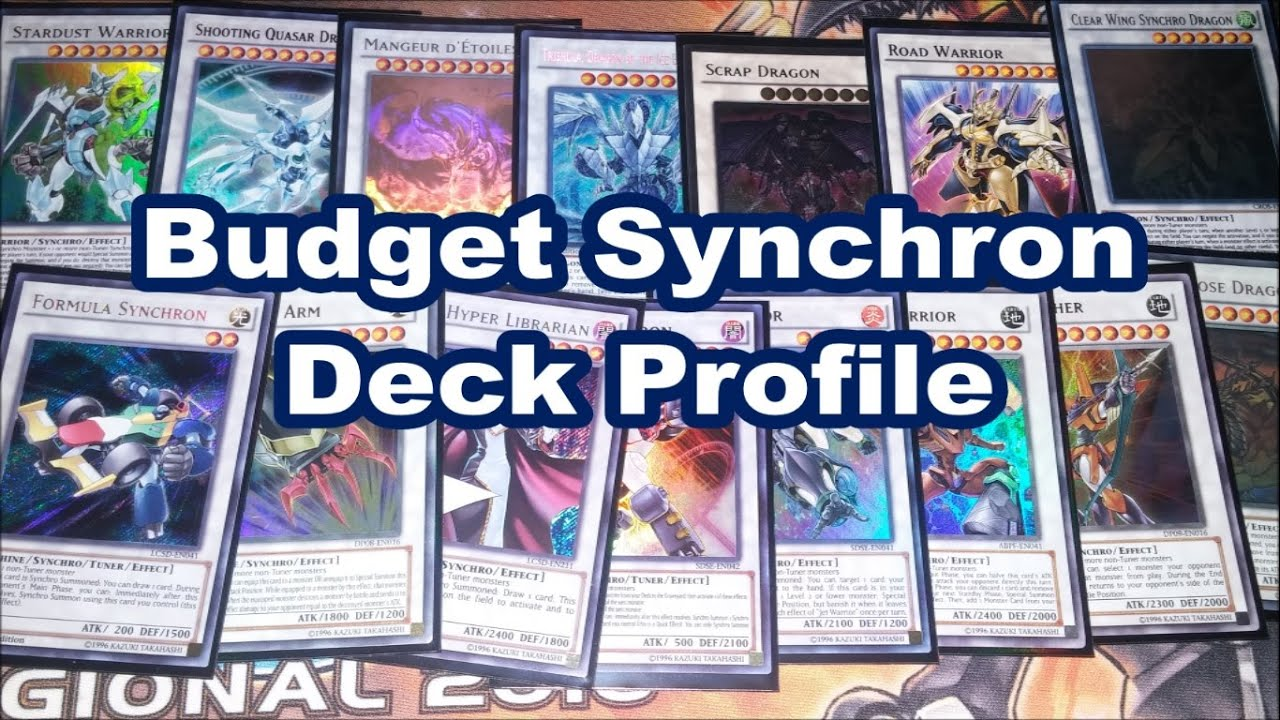 Synchron Extreme Structure Deck Build