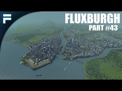 "Cities Skylines - Fluxburgh [PART 43] ""Expanding the Cargo Line"""