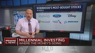 Jim Cramer: These stocks millennials are investing in are 'very good for speculation'