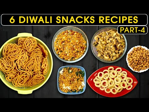6 Diwali Snacks recipes in tamil | Savoury recipes in tamil | தீபாவளி கார வகைகள்