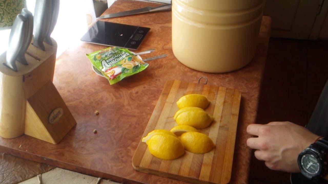 Чудо рецепт!!! Квас лимонный домашний, вкусный и натуральный)