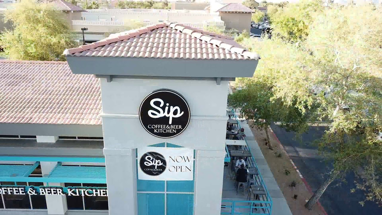 SIP Coffee and Beer - New Scottsdale and Shea Location - YouTube