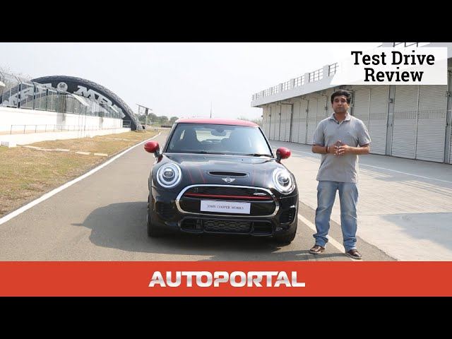 2019 Mini Jcw First Drive Review Autoportal Video Watch Now