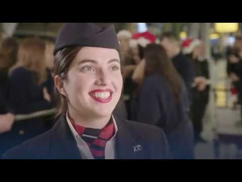 British Airways - Deck the Arrival Halls (including Rehearsals)