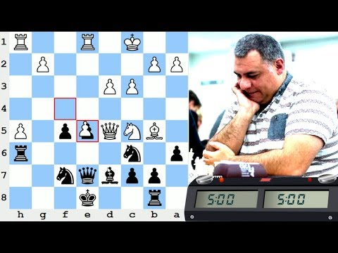 LIVE Blitz (Speed) Chess Game: vs International Master pulvettd (2509)