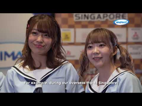 JAPAN PARK SINGAPORE - Interview with Poppin'Party